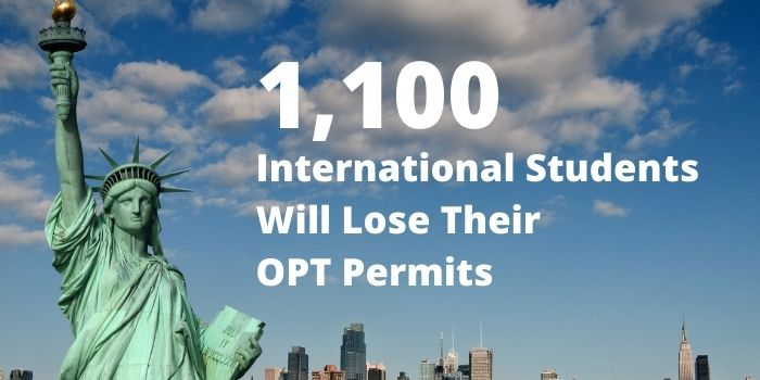 1100 International Students will lose their OPT permits – Homeland  Security